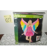 Airblown Inflatable Wings Costume:  Rainbow Butterfly - $29.99
