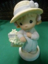 "Great PRECIOUS MOMENTS Figure-.""Take Thyme For Yourself""........FREE POS... - $17.41"