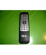 qfx  remote  control - $1.25