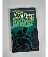 DOC SAVAGE # 27 Mystery Under The Sea by Kenneth Roberson 1968 PB fiction novel - $6.93