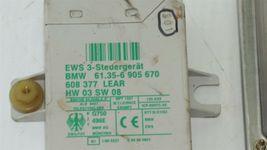 01 BMW 325Ci E46 MT 5sp M54 ECU ECM EWS DME Ignition Trunk Door GloveBox Key image 4
