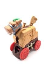 Fisher Price Great Adventures Trojan Horse Vintage 1998 Little People Ca... - $25.64