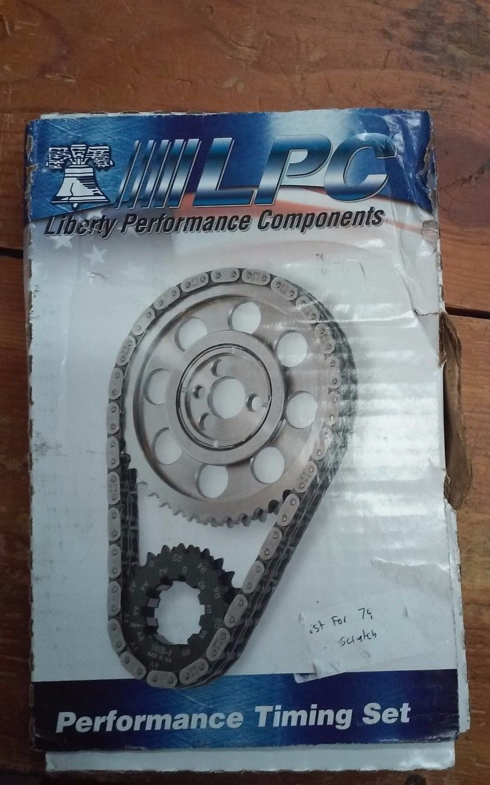 Performance Timing Set by LPC. Model LT98125. Like new! Original Authentic!