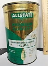 Allstate High Pressure 5 LB Can Of Grease half full 1960's - $4.95