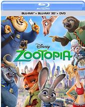 Disney Zootopia (3D + Blu-ray + DVD)
