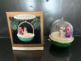 Hallmark Keepsake Ornament Barney Light and Motion 1994 - £10.87 GBP
