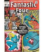 The Fantastic Four Comic Book #106 Marvel Comics 1971 FINE+/VERY FINE- - $27.01