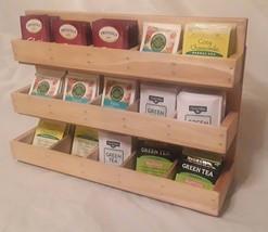 Beautiful Tea Rack Organizer for Individually Wrapped Tea Bags. 100 + Te... - $90.00