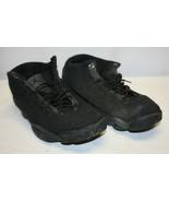 Nike Air Jordan Horizon Low Triple Black Mens Shoes 845098-010 Mens 8.5 - $29.69