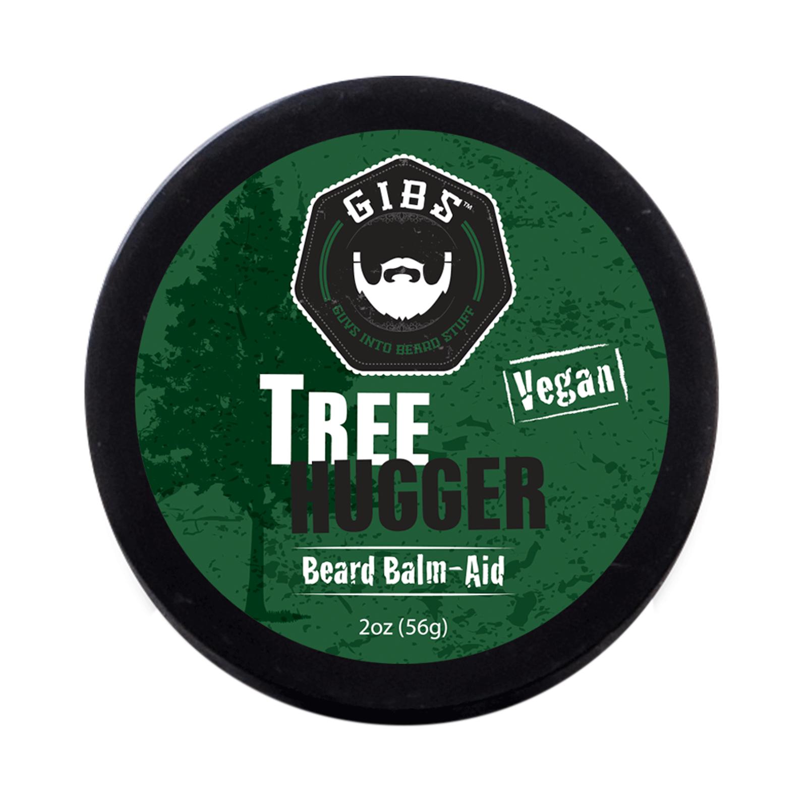 GIBS Grooming Tree Hugger Vegan Beard Balm, 2oz