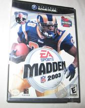 Enloquecer NFL 2003 Nintendo Gamecube, 2002 Fútbol Sports U. S. A - $6.12