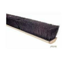 """24"""" Push Broom Floor Sweep Black Tampico Fiber Broom Head - $44.95+"""