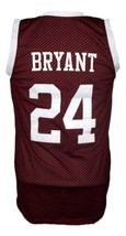 Kobe Bryant Bala Cynwyd Middle School Basketball Jersey New Maroon Any Size image 5