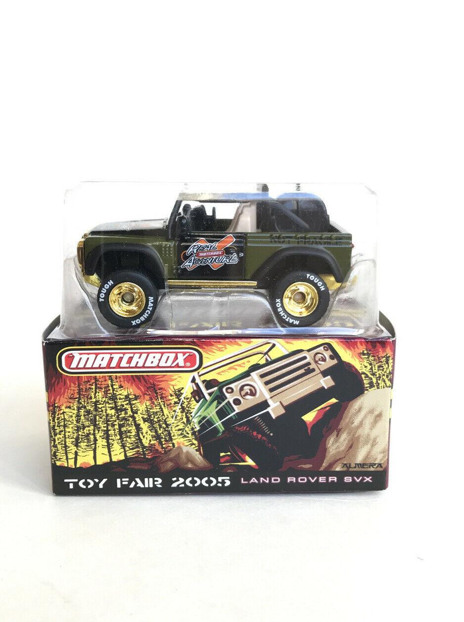 Matchbox Toy Fair 2005 Land Rover SVX NIB Rare Collectible  Free Shipping - $55.44