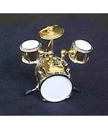Brass Drumset Ornament - $19.95