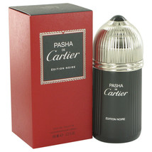 Pasha De Cartier Noire by Cartier Eau De Toilette Spray 3.3 oz for Men - $53.46