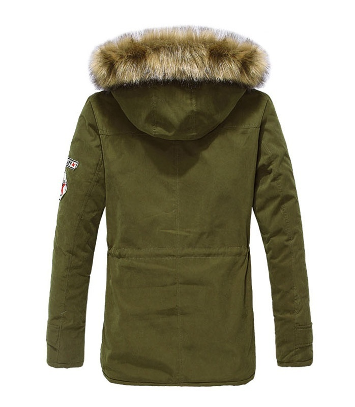 Hot Sale Men Parka Winter Coats Casual Fashion Mens Winter Jackets Stand Collar