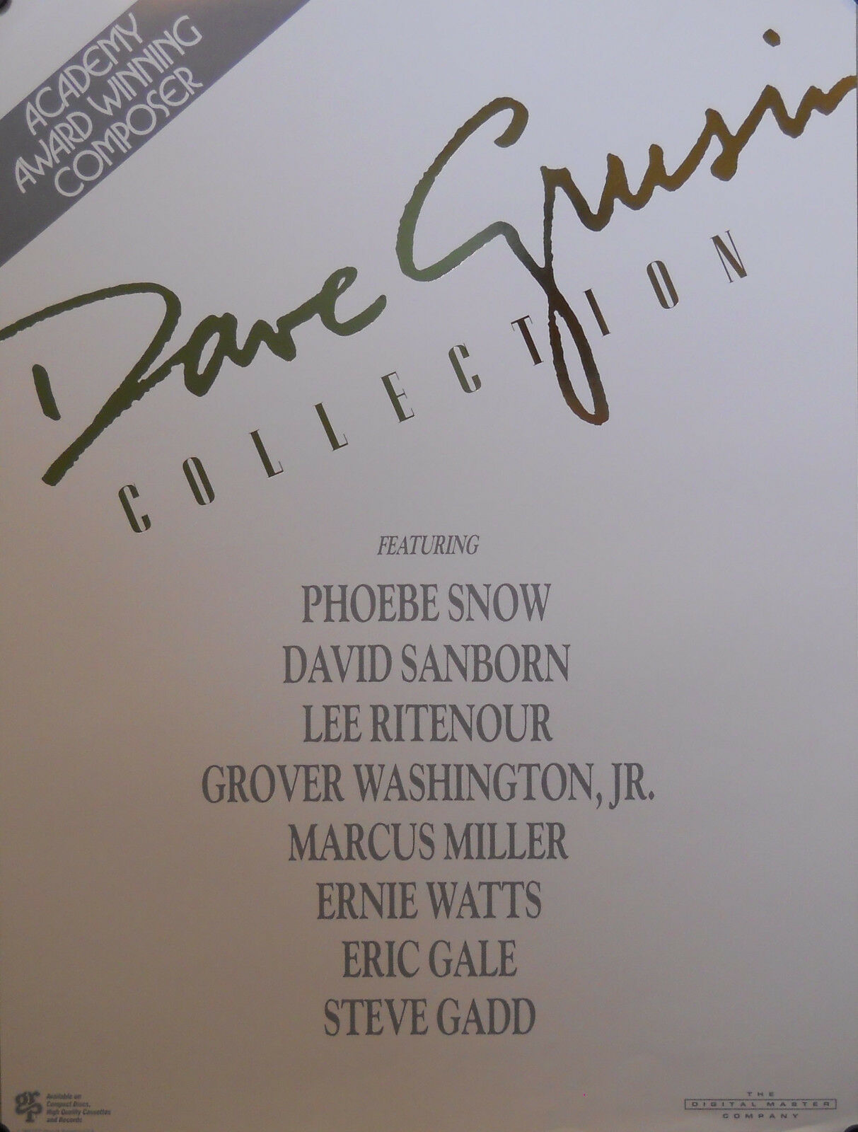 Primary image for DAVE GRUSIN, COLLECTION POSTER (J10)