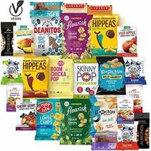 Healthy Snacks Sampler, Gluten Free and Vegan, Premium Nutritious Food Treats Ca