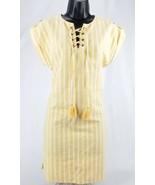 Love Tree Womans Dress Orange White Striped NWOT Small - $22.38