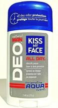 Kiss My Face Natural Man DEO Aqua Scent Aluminum Free Deodorant 2.48 oz ... - $14.30