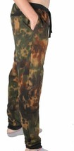 Asphalt Yacht Club Men's Sky High Green Tie Dye Sweat Jogging Pants Camo NWT image 2