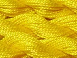 DMC Pearl Cotton Size 3 Color #973 Bright Canary - $1.70