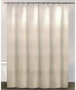DKNY Twine Linen Light Beige Shower Curtain - $41.00