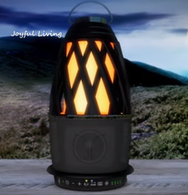Monster Flame 16.4 Wireless Bluetooth Speaker Lantern Outdoor Water Resi... - $172.19 CAD