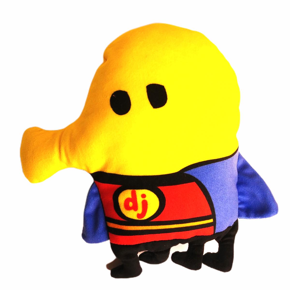 "Doodle Jumper Sega Toy Europe Claw Prize Machine Toy Superhero Cape 9"" Rare 2015 - $6.20"
