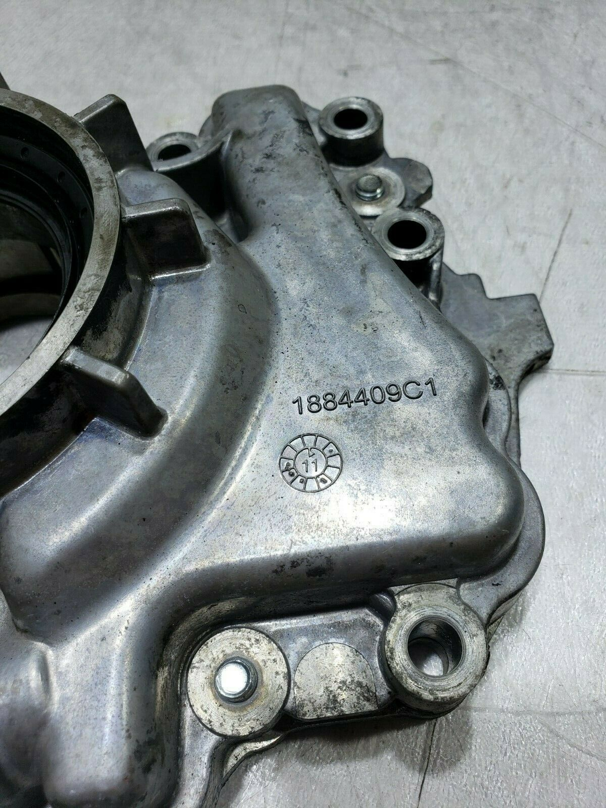 Front Cover Oil Pump LPOP Water Ford F250/F350 Powerstroke 6.0 1884409C1 image 3