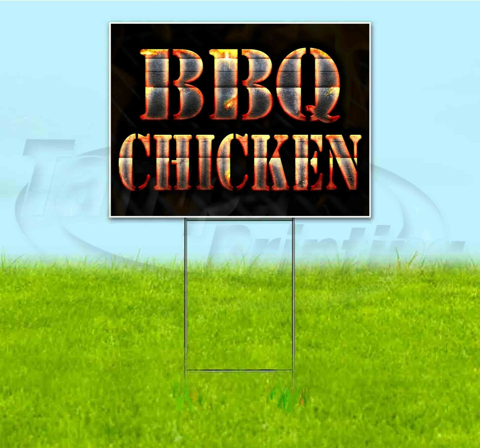 BBQ Grill Neon Signs   Bbq Chicken Sign