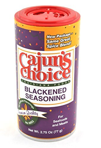 Primary image for Cajuns Choice Blackened Seasoning (1) 2.75 OZ With New Adjustable Shaker Top