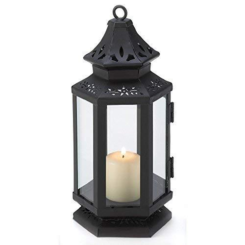 Gallery of Light Candle Lanterns Decorative, Rustic Stagecoach Black Outdoor Can