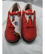 MLB Rookie League Kids Red Leather Sneakers 7 M by Buster Brown Style 11... - $34.00