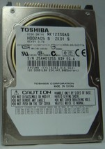 "New MK1233GAS Toshiba HDD2A05 120GB 2.5"" IDE Drive Free USA Shipping"