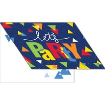 Geo Pop 4 x 5 Invitation Foldover, Case of 48 - $37.24