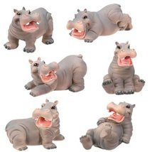 YTC Summit 5163 Hippos - Set of 6 - C-20 - $32.66