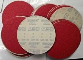 """Diablo 2610017902 50 Pack U-Sand Hook & Lock 6"""" 36 Grit Sanding Discs - $21.78"""
