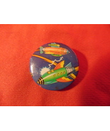 """1978, 1 1/4"""" Diameter, Pinback Button with 2 Buck Rogers Type Rockets, o... - $7.99"""