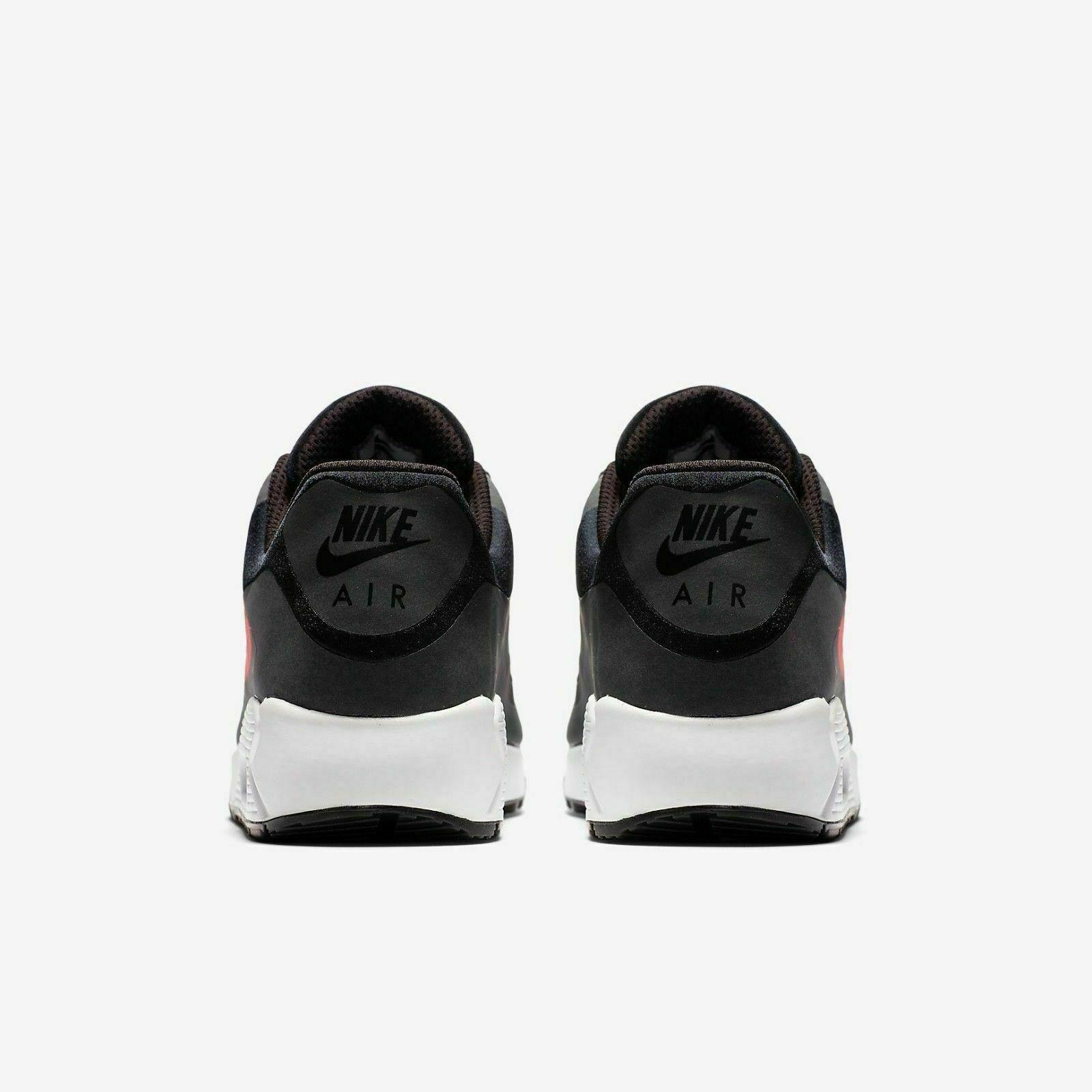 HOMME Nike Air Max 90 NS GPX Chaussures Noires Crimson AJ7182 003 Pdsf 150$