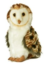 "Aurora Plush 9"" Barn Owl - $16.01"