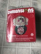 Dimensions Needlepoint Kit Scrooge Christmas Ornament Bah Humbug 9009 Pu... - $14.01