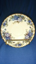 3 Royal Albert Saucer in Moonlight Rose EXCELLENT - $13.10