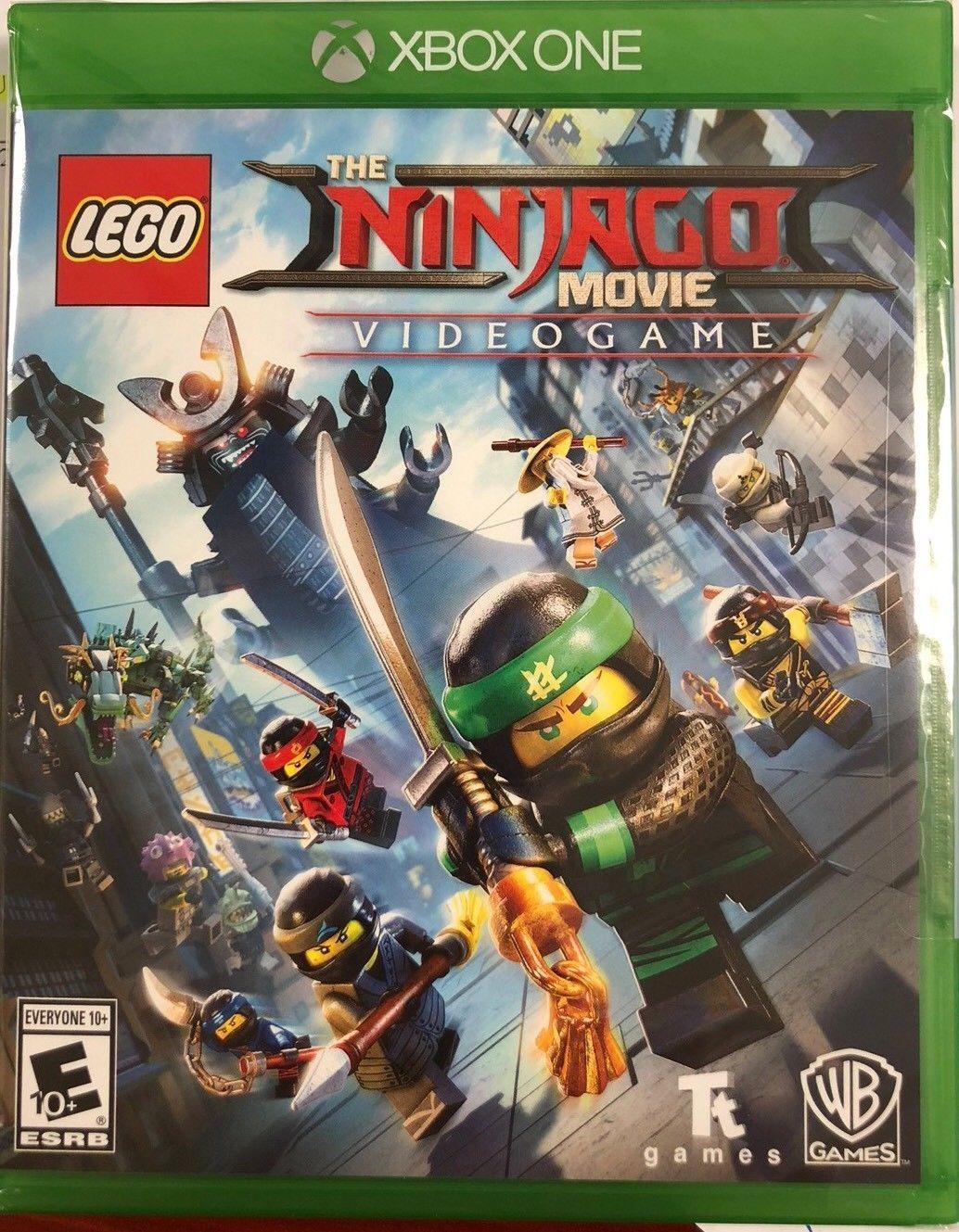 LEGO Ninjago Movie Video Game Xbox One [New]