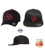 HELLCAT DODGE  FLEXFIT HAT CURVED or FLAT BILL *FREE SHIPPING in BOX* - $19.99