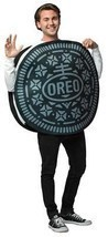 Oreo Cookie Adult Costume Men Women Food Sweets Halloween Party Unique G... - €51,01 EUR