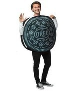 Oreo Cookie Adult Costume Men Women Food Sweets Halloween Party Unique G... - ₹4,281.39 INR