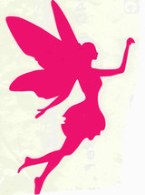 "5"" pink flying fairy decal ideal cars, trucks, home etc easy to apply"