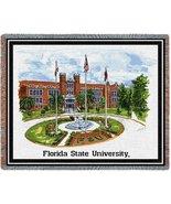 Florida State University Stadium Tapestry Throw Blanket - $64.95